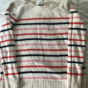 Women's Striped Old Navy Sweater